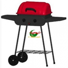 Portable gas grill single burner for barbecue