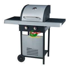 Eco-friendly gas Barbecue grill stainless steel gas grill with 2 Burners