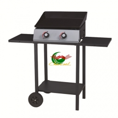 2 burners barbecue gas grill smokeless bbq grill for indoor
