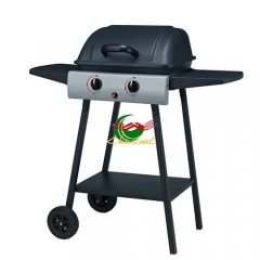 Latest design euro style outdoor bbq gas kebab grill