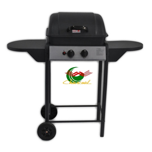 Indoor kitchen 2 burners portable butane weber gas grill bbq