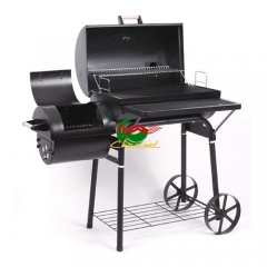 Hot Selling design bbq charcoal grills bbq smoker with trolley