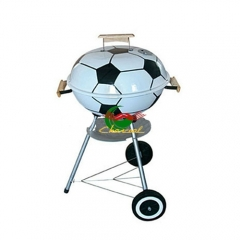 Custom Design football shape bbq grills