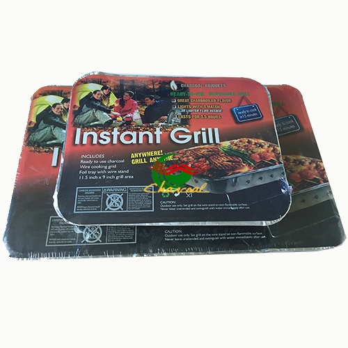 2017 Factory Direct Sale One time use bbq grills instant grill