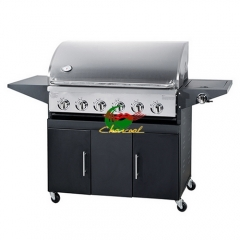 6 burners Stainless steel bbq grills gas outdoor beefmaster bbq grill