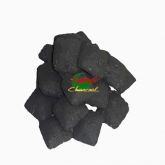 High Calorific Value coconut shell sawdust bbq charcoal briquette